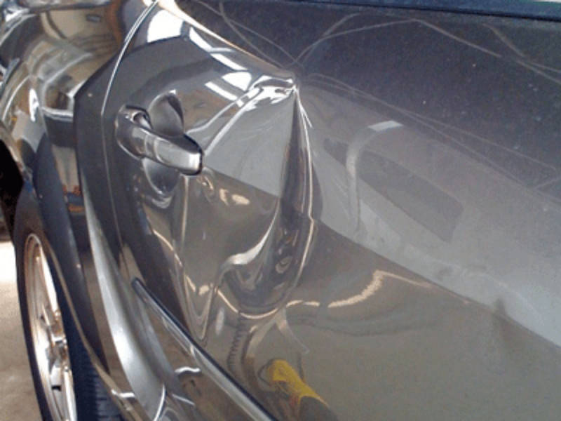 Door Dent - Before PDR